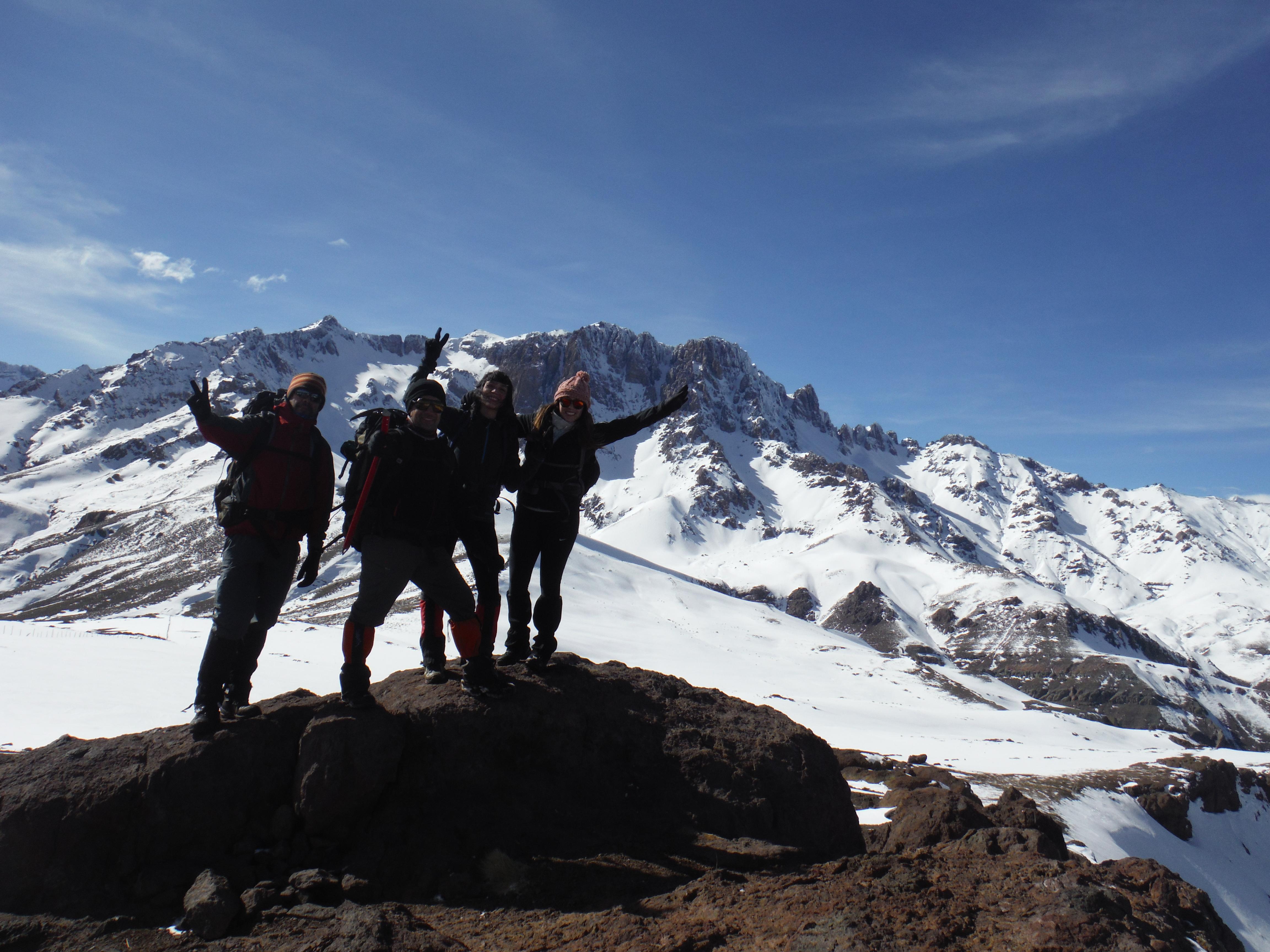Exitoso termino del curso de Iniciación al Montañismo