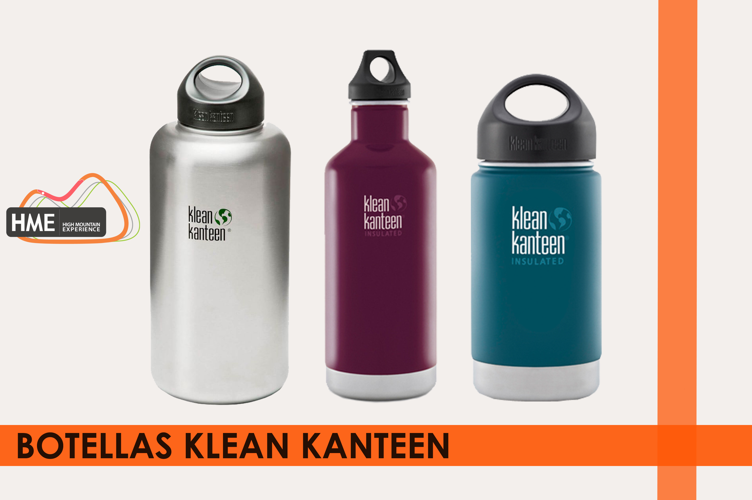 Botellas Klean Kanteen